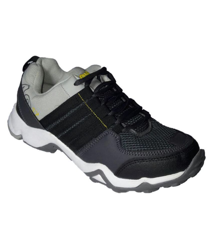 Aqualite Leads Track 03 Gray Running Shoes
