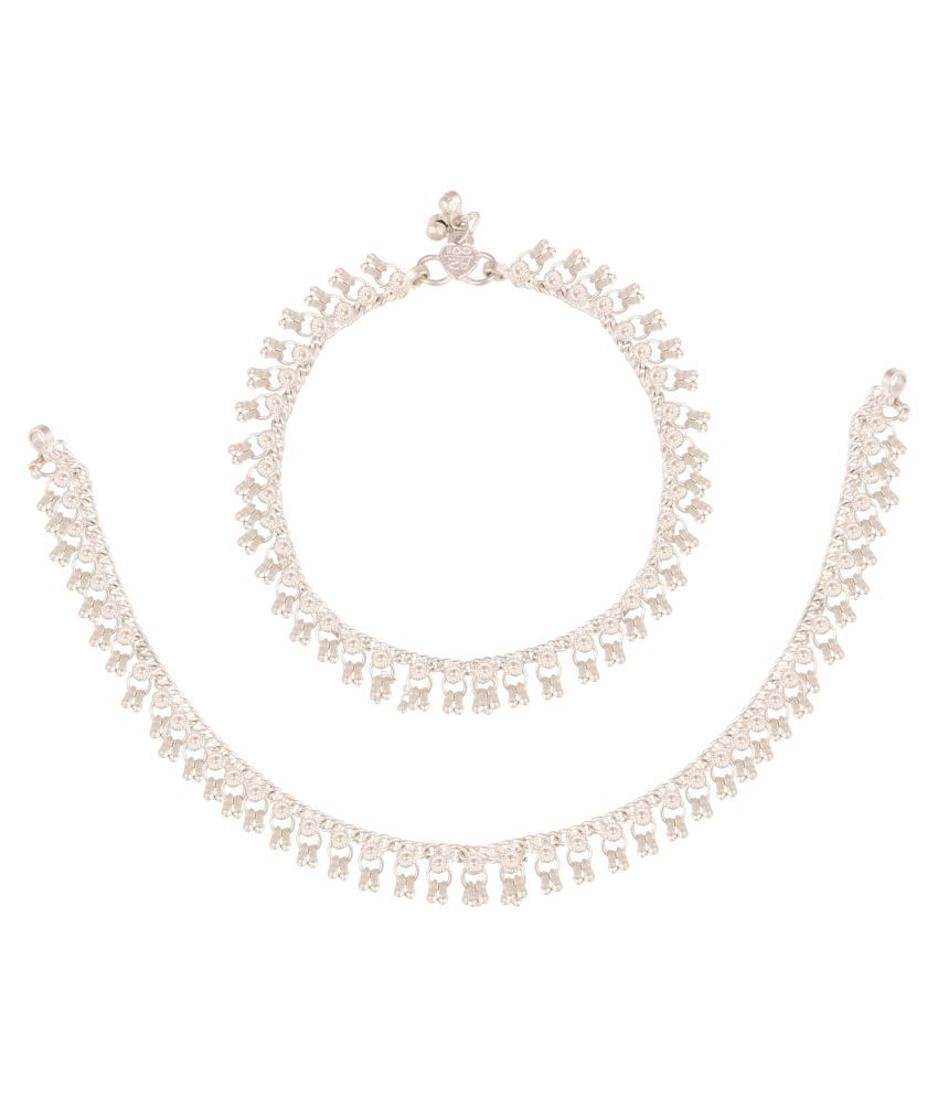 Fine Jewellers Silver Anklets