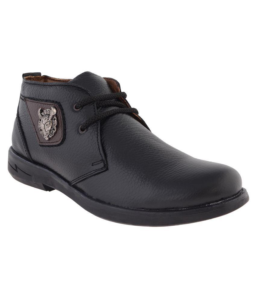 Ezywear Black Casual Boot
