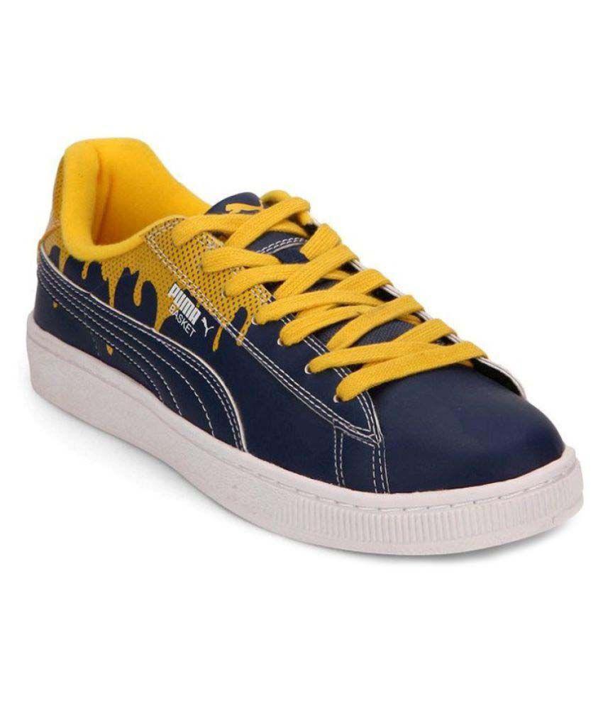 Puma Basket City DP Sneakers Blue Casual Shoes Buy Puma