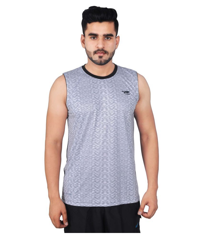 NNN Grey Polyester T-Shirt Single Pack