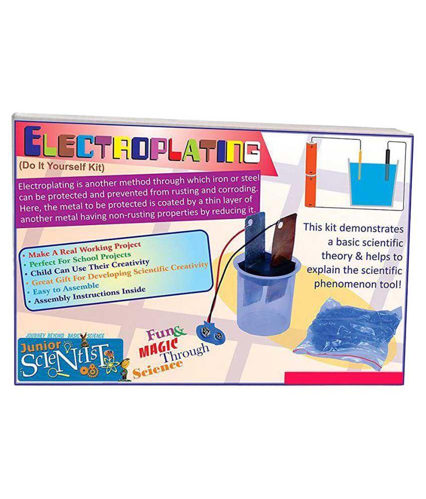 Junior scientist electroplating kit buy junior scientist junior scientist electroplating kit solutioingenieria Gallery