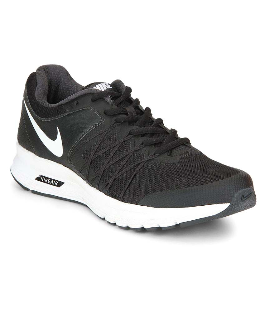 buy popular 0a606 b6a3f Nike Air Relentless 6 Black Running Shoes