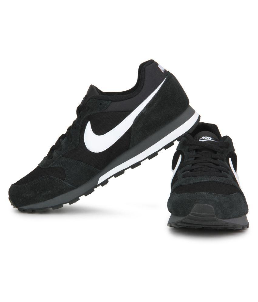 new product 2b5e5 69520 nike md runner 2 black