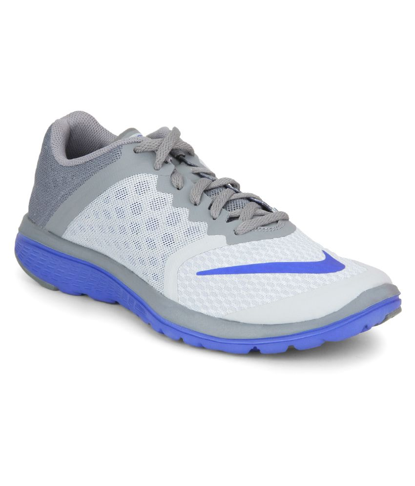 24644061974e6 Nike Fs Lite Run 3 Gray Running Shoes - Buy Nike Fs Lite Run 3 Gray Running  Shoes Online at Best Prices in India on Snapdeal