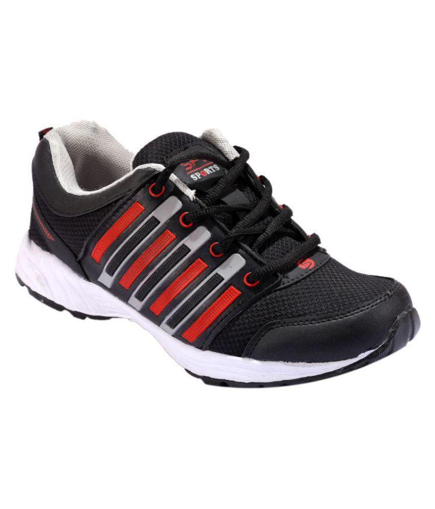 Spot On Black Running Shoes