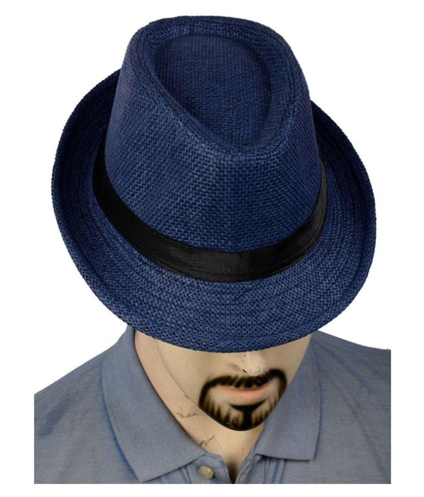 362f458158f Urban Style Emporium Blue Knitted Polyester Hats - Buy Online   Rs ...