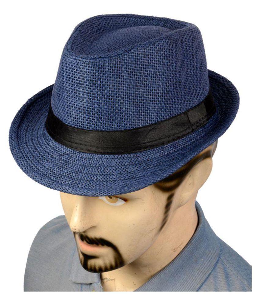 d2b1d5d293b Urban Style Emporium Blue Knitted Polyester Hats Urban Style Emporium Blue  Knitted Polyester Hats