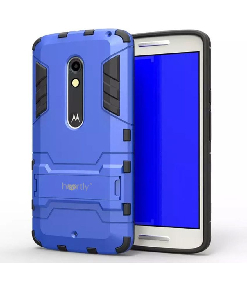 Motorola Moto X Play Cover by Heartly - Golden