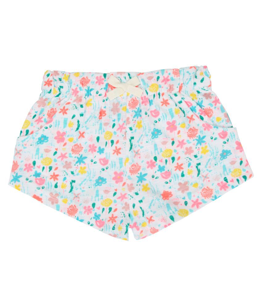 Eimoie Girls Printed Shorts