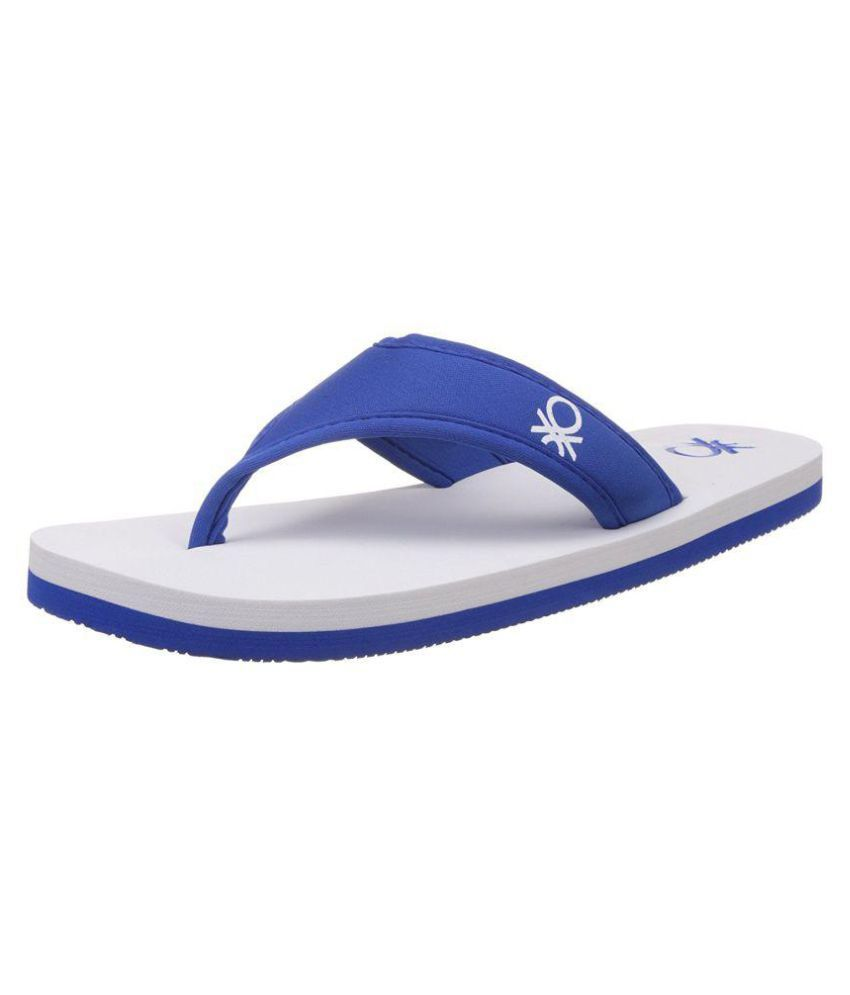 a3944a9b5 UCB Blue Thong Flip Flop Price in India- Buy UCB Blue Thong Flip Flop Online  at Snapdeal