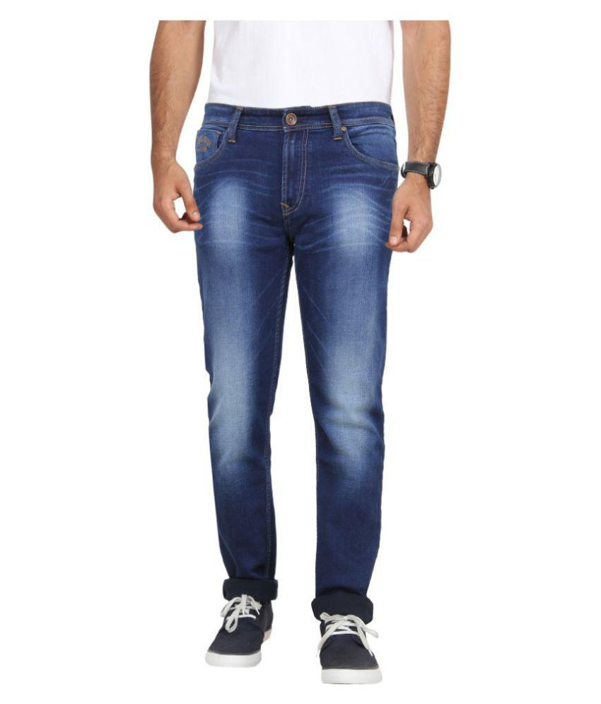 Pepe Jeans Blue Slim Jeans By Snapdeal @ Rs.1,149