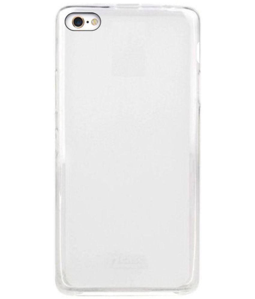 new concept 65563 e1288 Vivo V5 Cover by MAX CASE - Transparent - Plain Back Covers Online ...