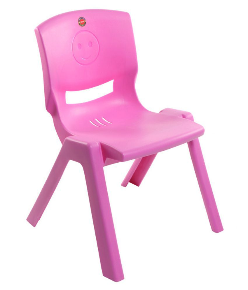 Stupendous Cello Rock Kids Chair Set Of 4 In Pink Colour Caraccident5 Cool Chair Designs And Ideas Caraccident5Info