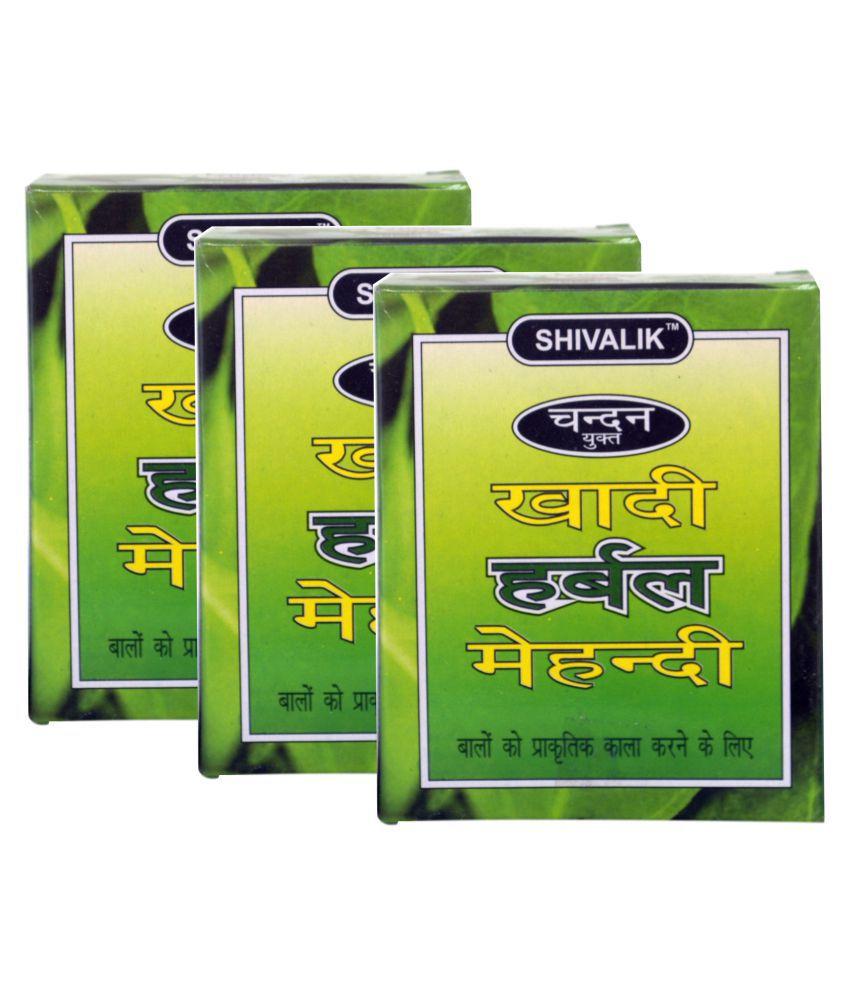 e96e5bcf5b24f Khadi Chandan Yukt Herbal Mehndi Herbal Henna 3 gm Pack of 3: Buy Khadi  Chandan Yukt Herbal Mehndi Herbal Henna 3 gm Pack of 3 at Best Prices in  India - ...