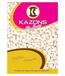 Kazons Regular Cashew Nut (Kaju) Regular 1000 Gm Pack Of 2 - 682456200614