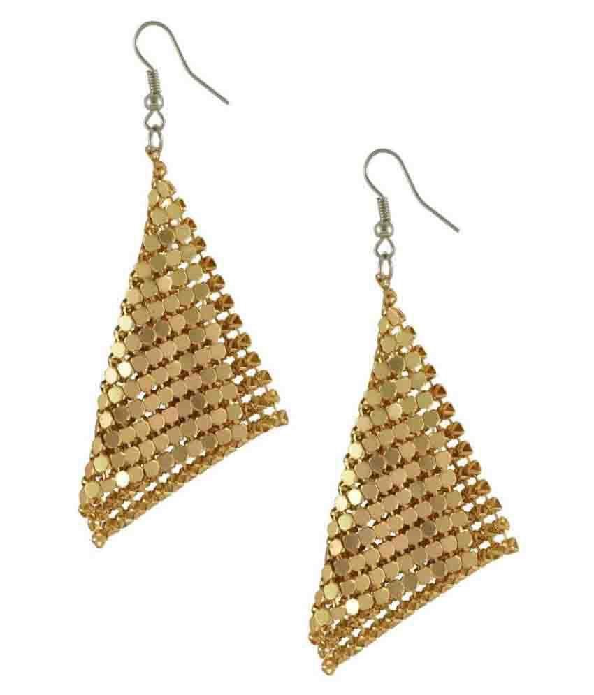 Oomph Golden Earrings