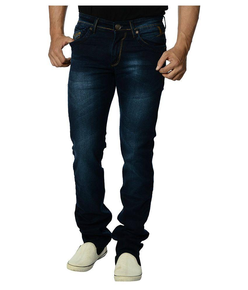 EOS Blue Regular Fit Jeans