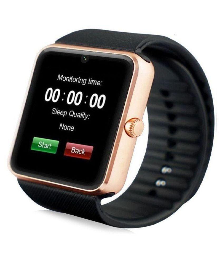 JAIDEN gt08 Watch Phones Black