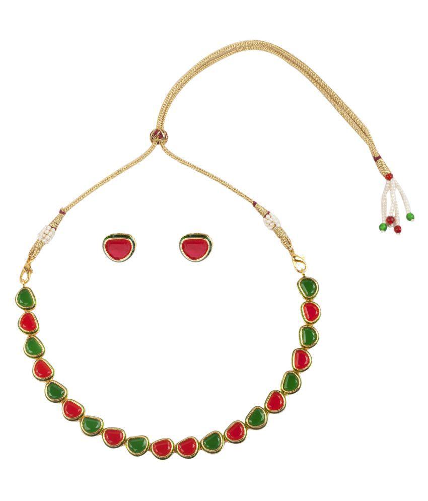 Makezak Multicolor Necklace Set