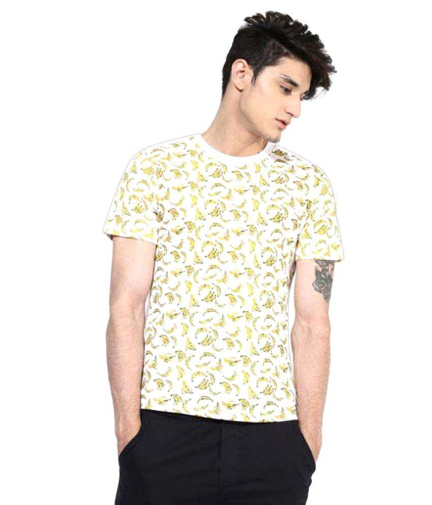 Brown Boy Multi Round T-Shirt