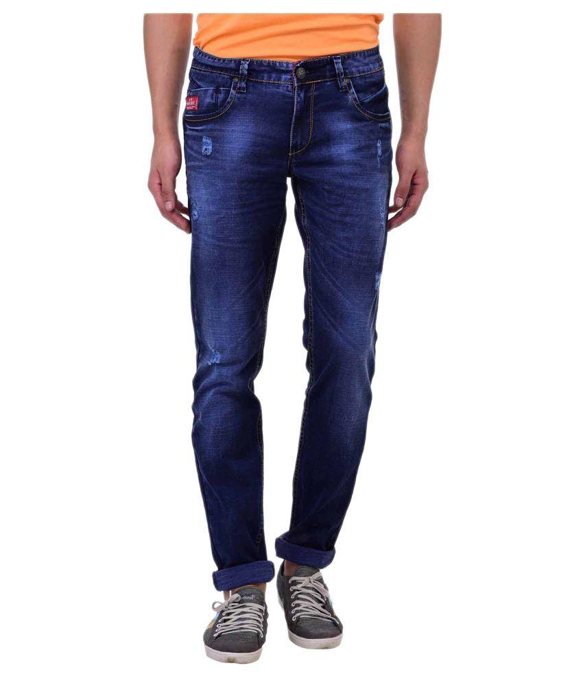 Blue Buddha Dark Blue Skinny Jeans