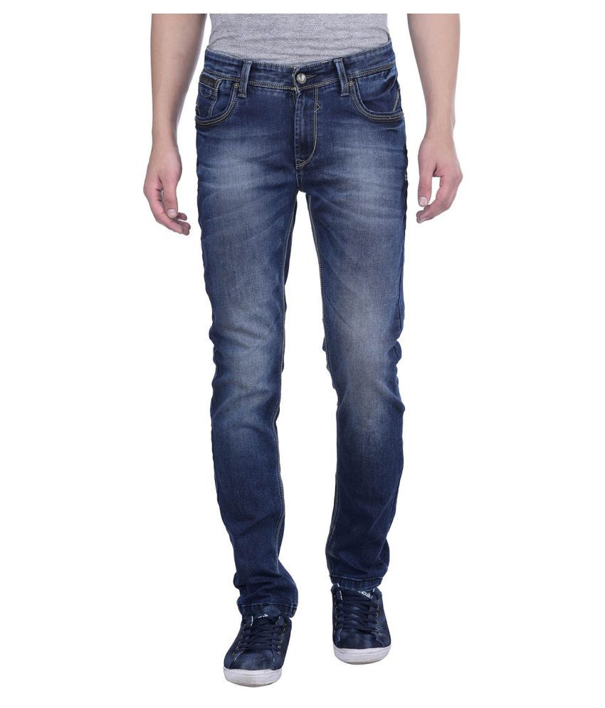 Blue Buddha Dark Blue Slim Jeans