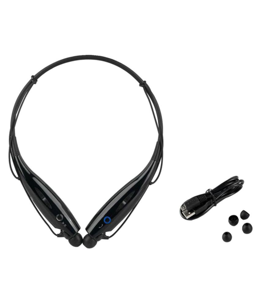 Akira Focus Wireless Bluetooth Headphone Black