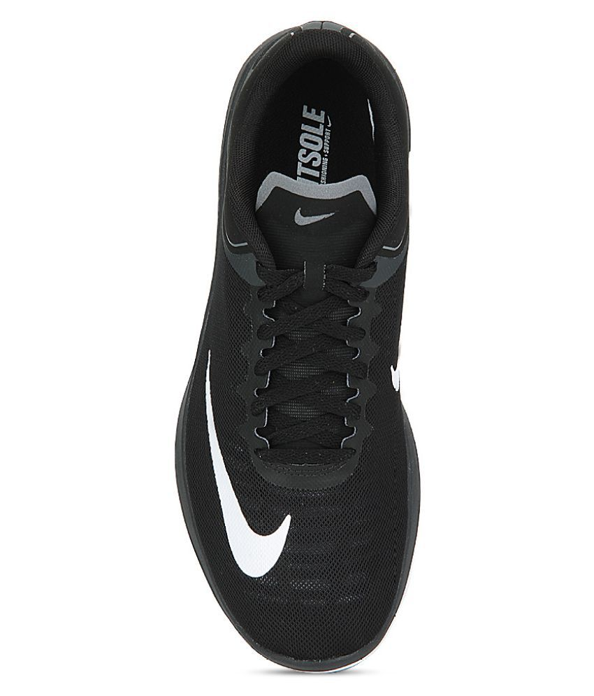 quality design ec198 a3539 Nike FS LITE RUN 4 Black Running Shoes