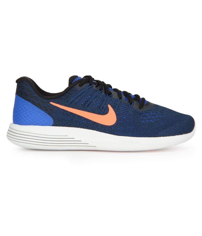 3f819a98530c Nike LUNARGLIDE 8 Blue Running Shoes Nike LUNARGLIDE 8 Blue Running Shoes  ...
