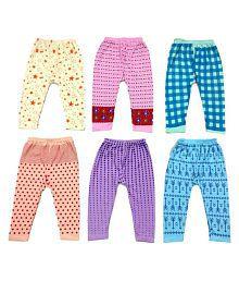Peridot Credo Multicolour Cotton Blend Pyjamas-Pack of 6