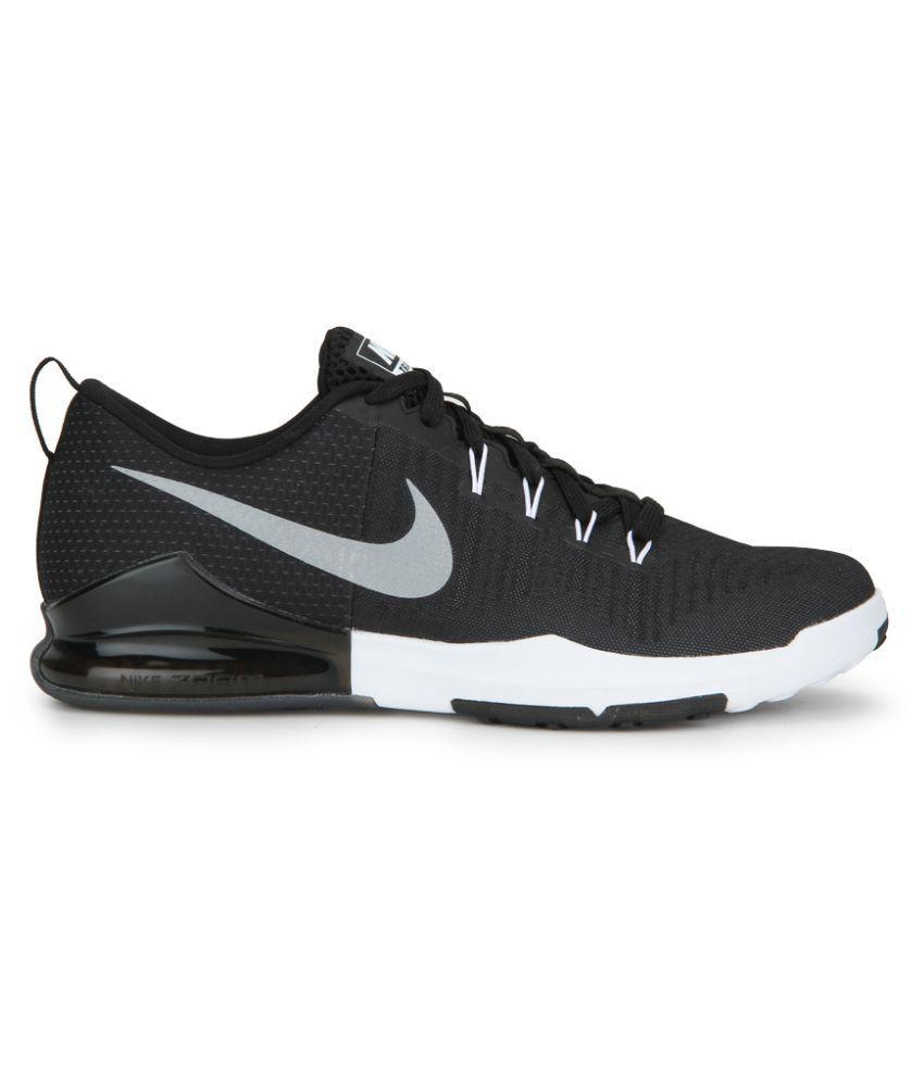 38040eb10b02 Nike Zoom Train Action Black Running Shoes - Buy Nike Zoom Train ...