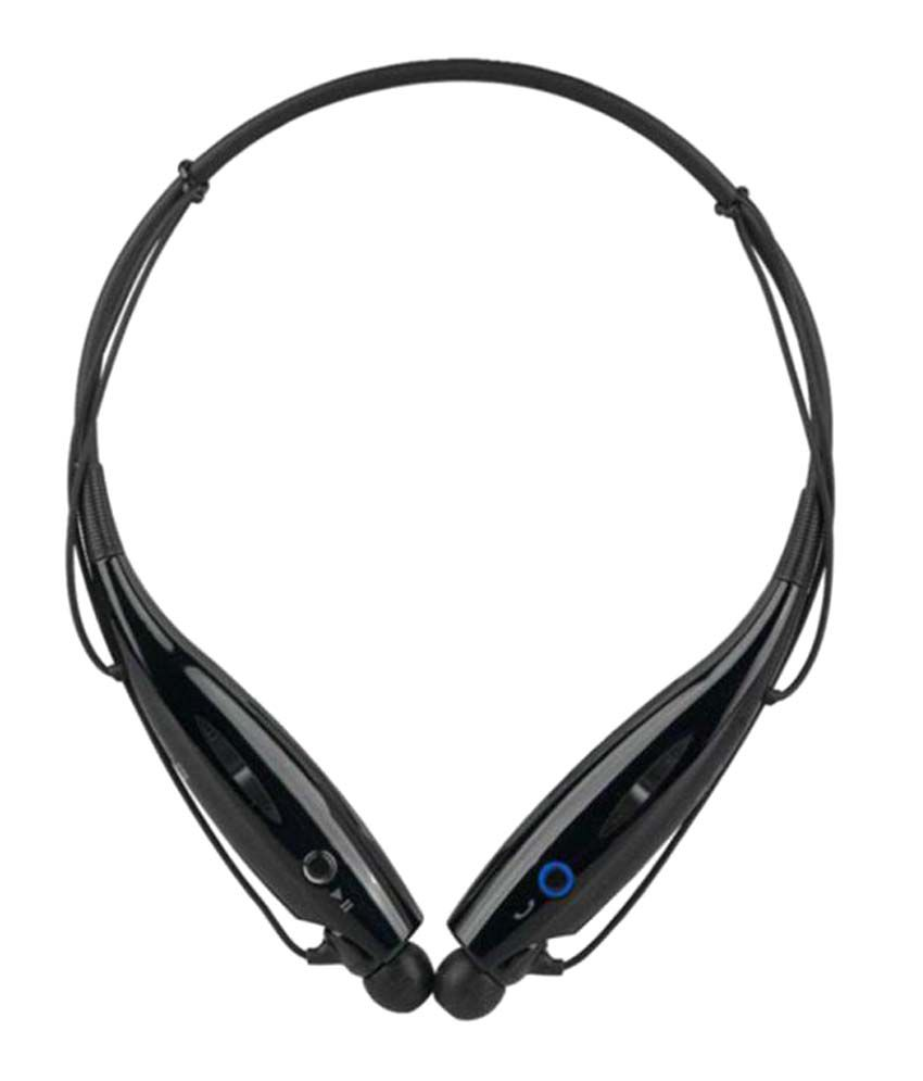 Jikra Galaxy J Wireless Bluetooth Headphone Black