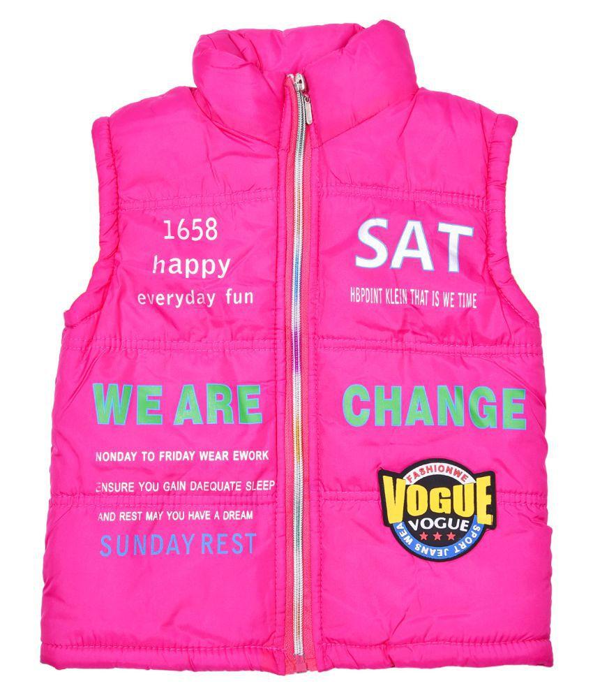 Lol or Land of Littles Pink Polyester Jacket