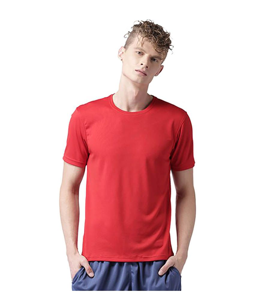 2GO Red Polyester T Shirt