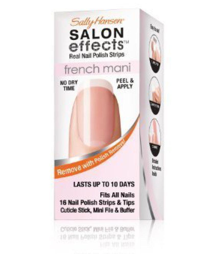 Sally Hansen Salon Effects French Mani Real Nail Polish Strips ...