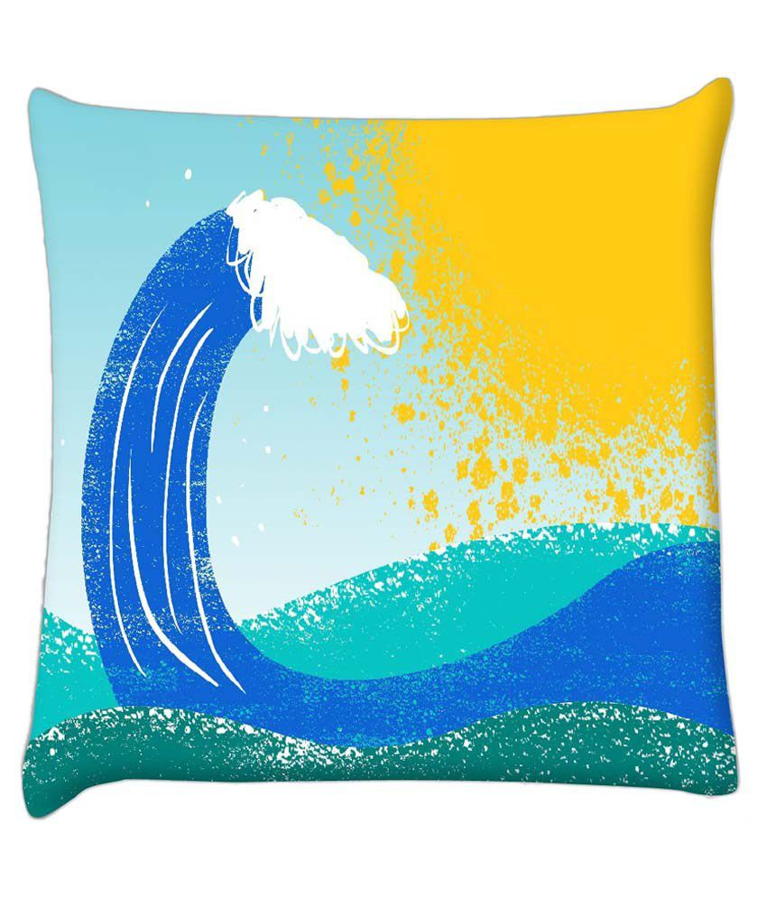 Snoogg Single Polyester Cushion Covers