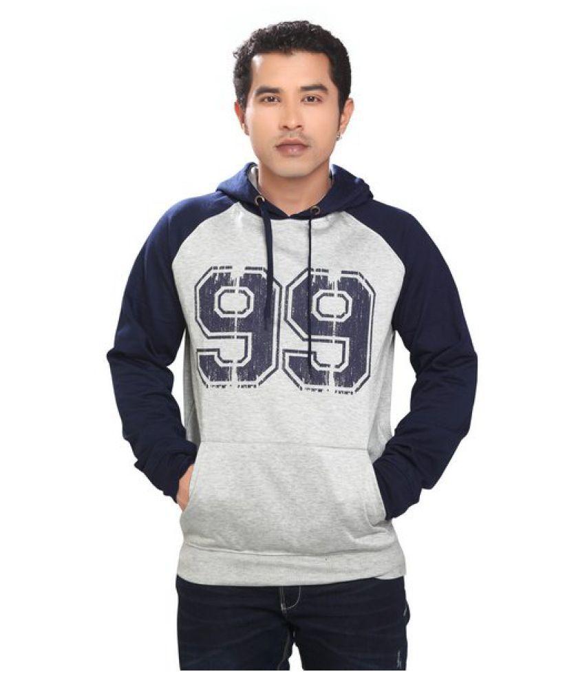 Free Spirit Grey Hooded Sweatshirt