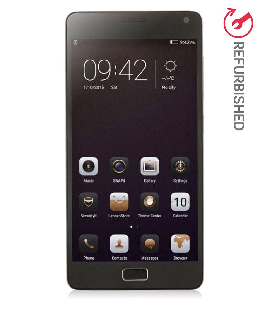 REFURBISHED Lenovo Vibe P1a42 32GB Silver with turbo charger