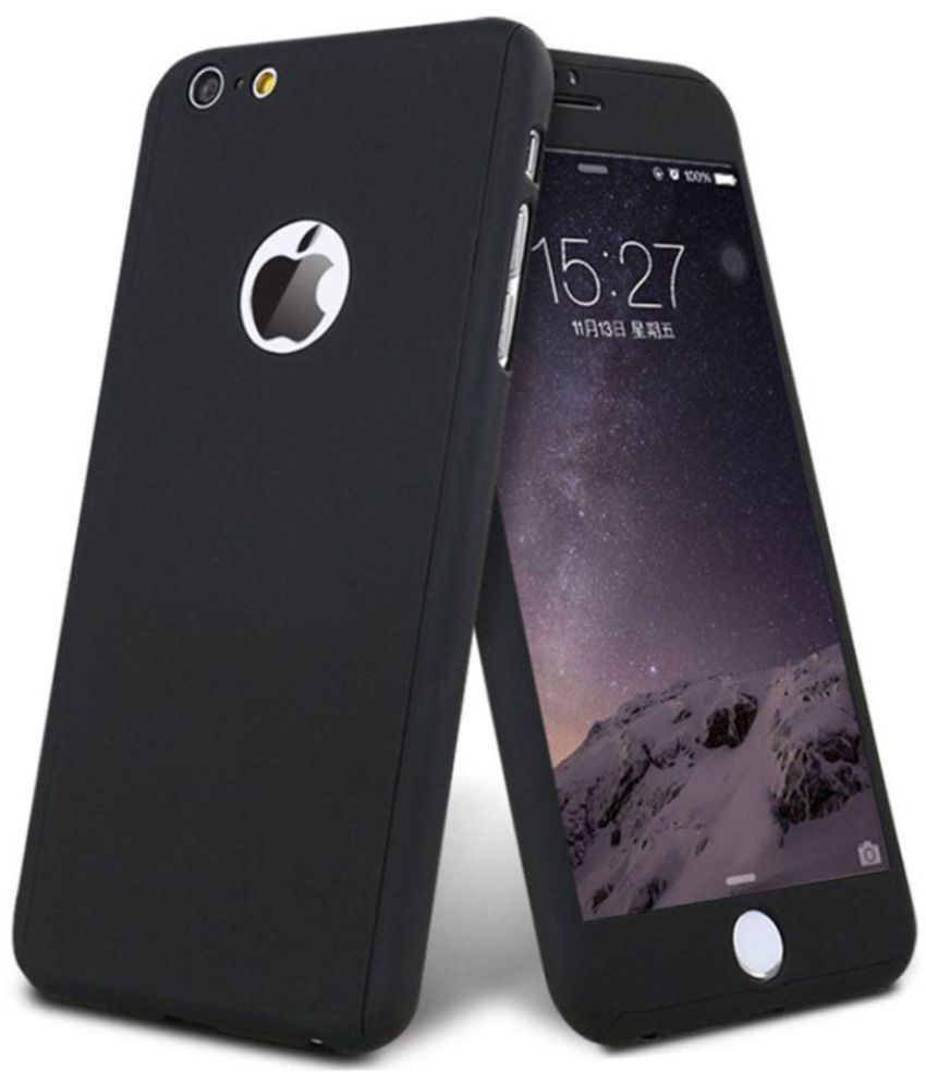 3191770ec3263c Apple iPhone 6S Cover by Tecozo - Black - Plain Back Covers Online ...