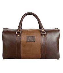 The Clownfish Brown Duffle Bag