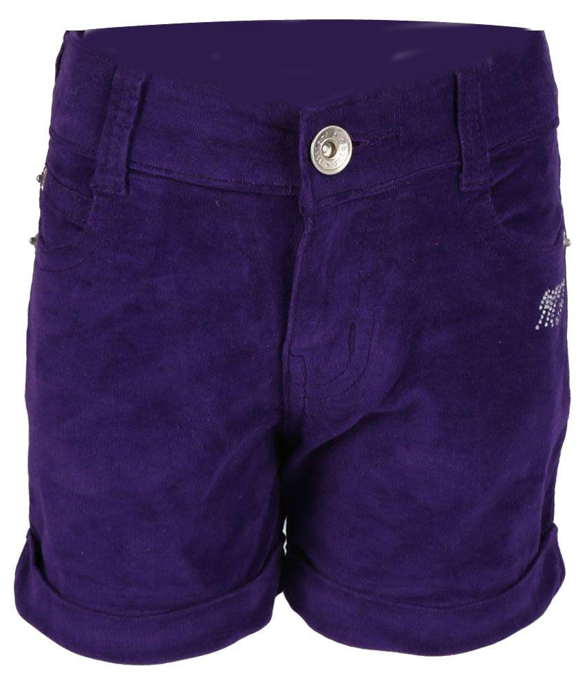 Miloni Purple Shorts