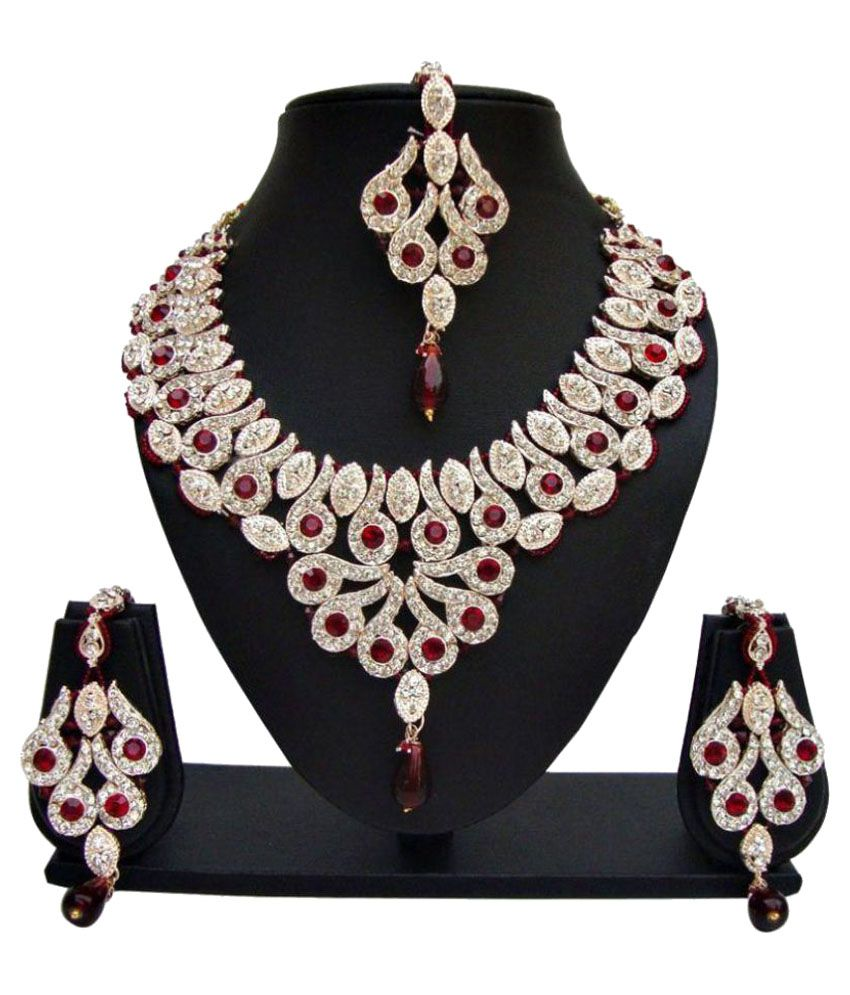 Angel in You Multicolour Alloy Neckklace Set