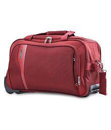 VIP Maroon Duffle Bag - 666836480466