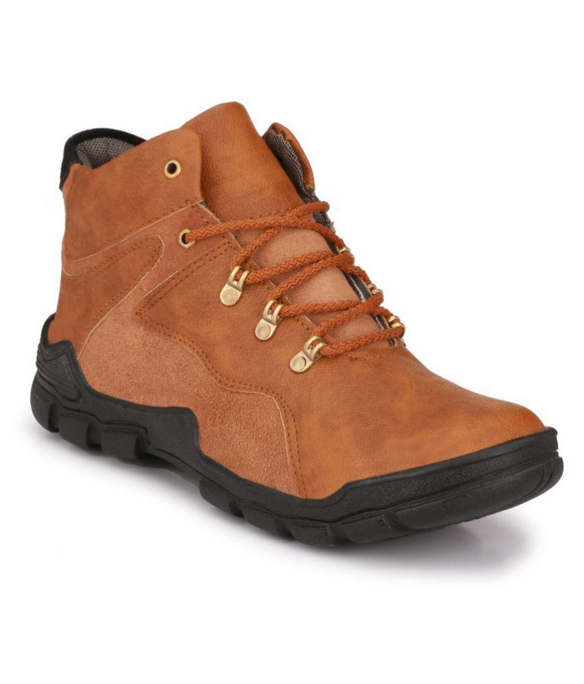 Layasa Brown Hiking & Trekking Boot