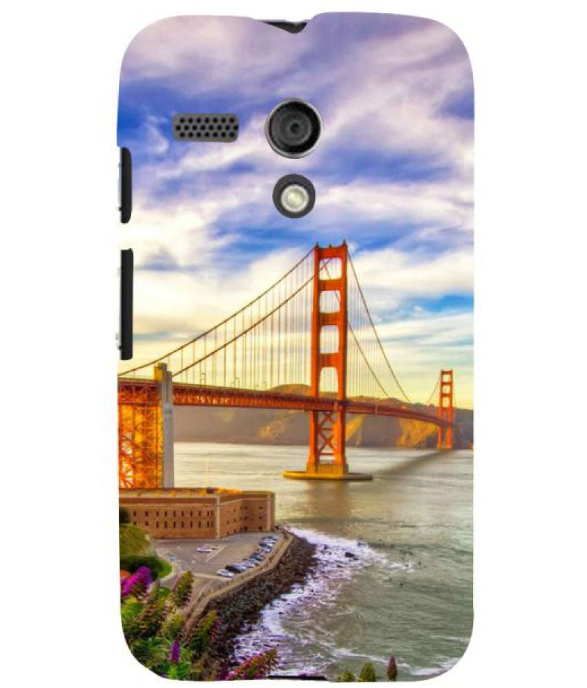 Moto G 3D Back Covers By Fuson