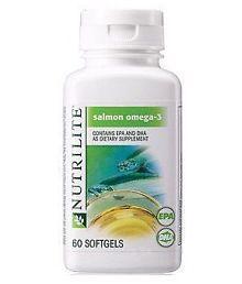 Amway NUTRILITE® Salmon Omega-3(60N Softgels) 120 Gm