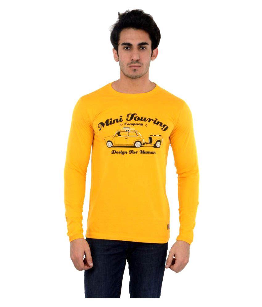 DFH Yellow Round T-Shirt