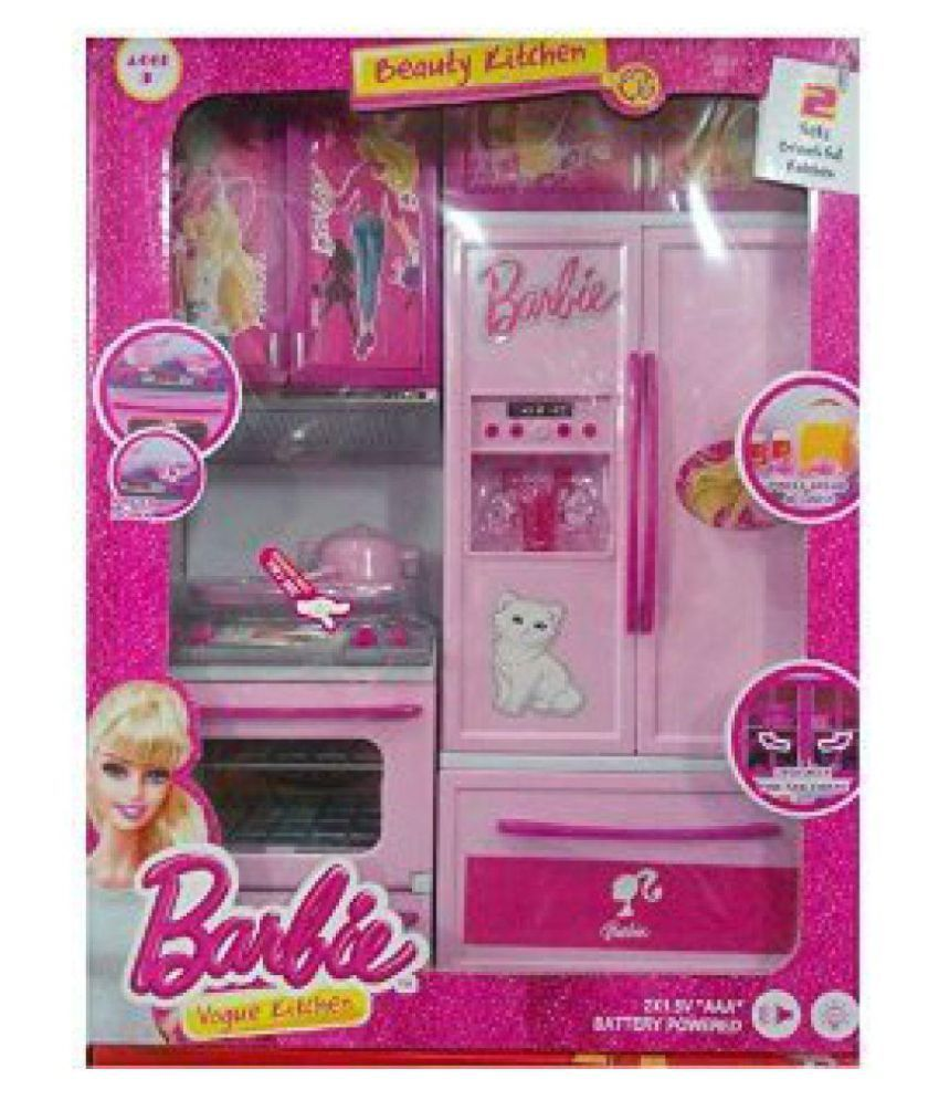 Om barbie vogue kitchen available at snapdeal for for Snapdeal products home kitchen decorations