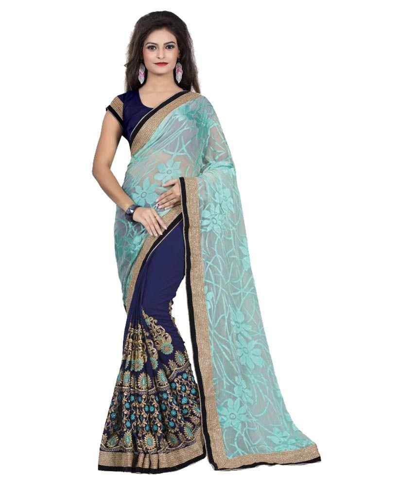 Aashvi Creation Multicoloured Georgette Saree